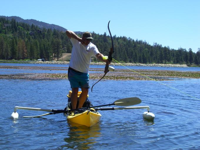 арбалет ловить рыбу